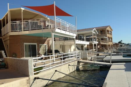 Parker Strip River Front House - Private Boat Dock - Parker - Haus