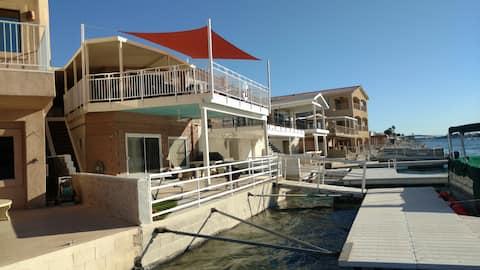 Parker Strip River Front Guesthouse/Dock-Best View