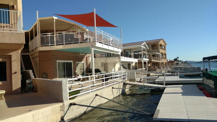 Parker Strip River Front Guesthouse/Dock-Best View