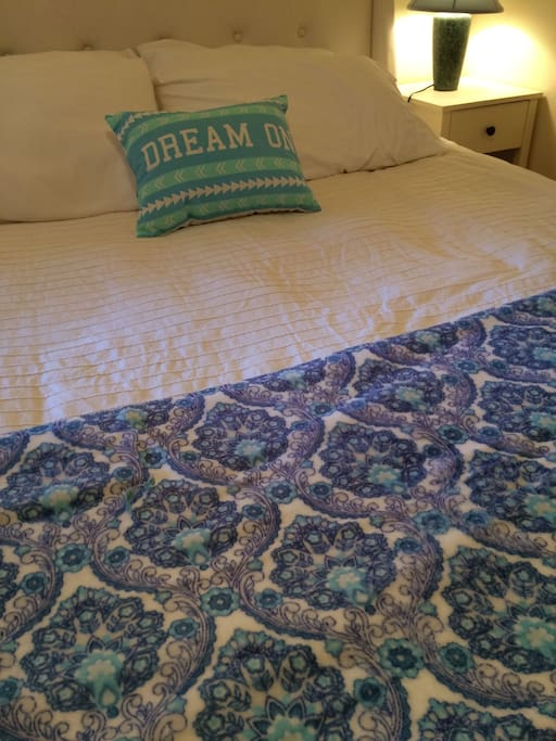 Cotton Bedding and New Blankets