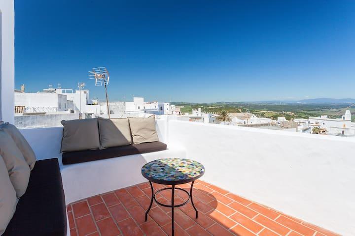 Beautiful patio house Casa Flamenco - Vejer de la Frontera - Casa