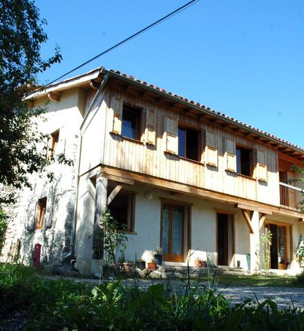 GITE ARIEGE SUPER CALME – 6 pers - Montseron - Casa