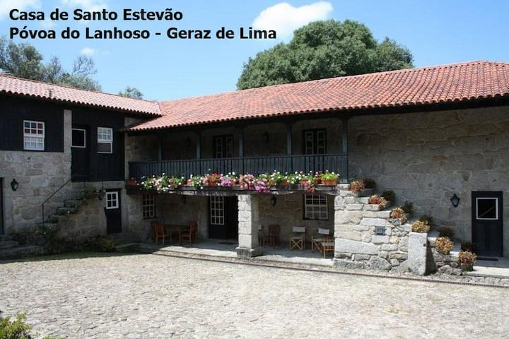 Casa de Santo Estevão  - Geraz  - Lanhoso