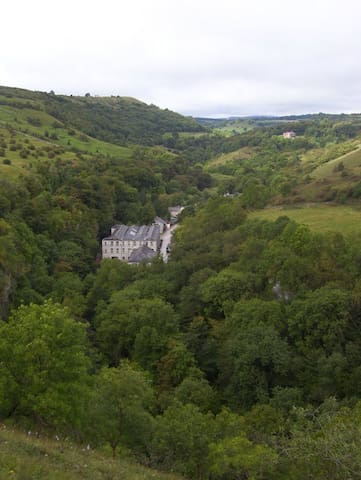Litton Mill Apartment, Millers Dale - TIdeswell
