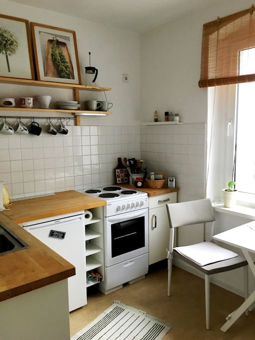 the kitchen perfect to start your day