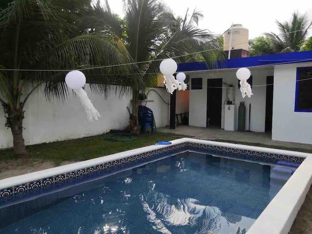 Casa sola en Costa Esmeralda