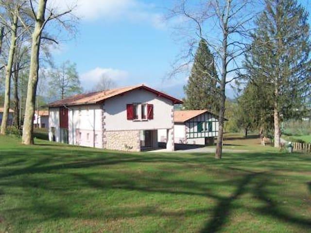 Domaine du Lac d' Harrieta - Saint-Jean-le-Vieux - Casa