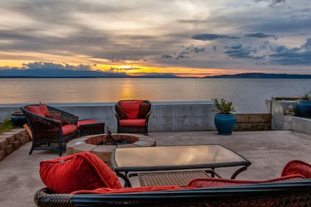Sunset Beach Cottage Beachside SO WHIDBEY ISLAND - 클린턴(Clinton)