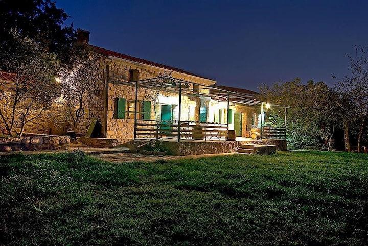 Mediterranean style stone house (duplex)