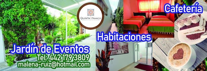 Quinta Franco cómodo espacio ejecutivo y descanso