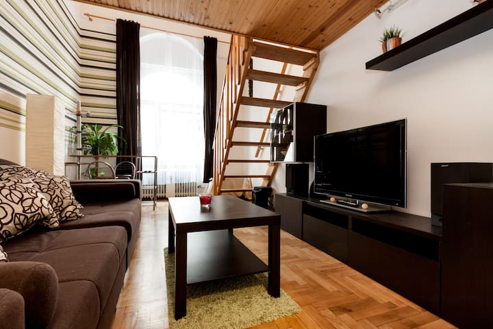 Downtown Apartment @ Walking Street - Budapest - Leilighet