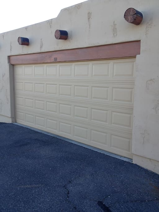 2 car garage to protect your vehicles!