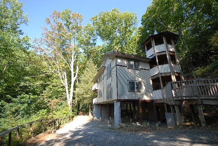 High Tower Chalet; Bottom Unit