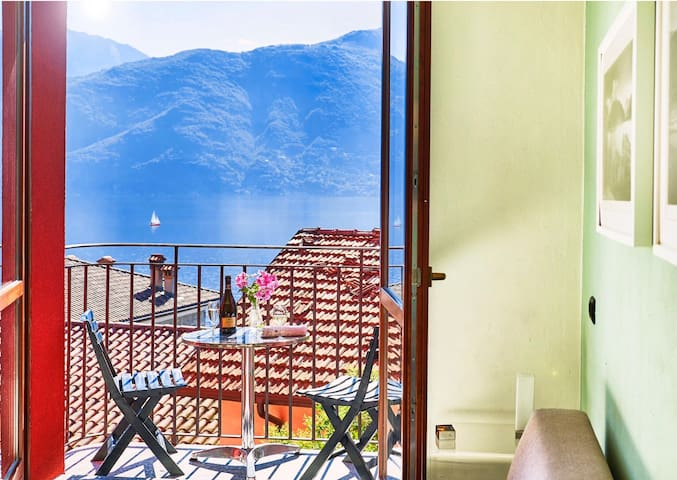 Lake View Apartment Lake Como Italy - Acquaseria - Apartamento