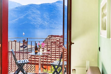 Lake View Apartment Lake Como Italy - Acquaseria - Daire