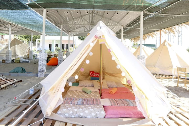 The most beautiful Glamping - Love Bell tent