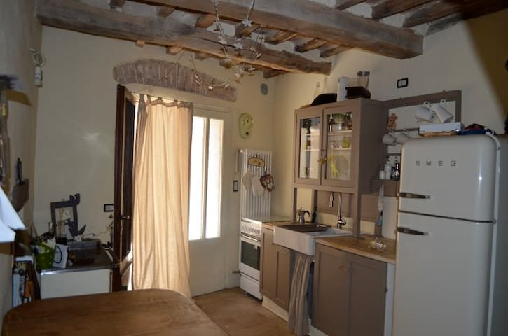 Lovely house in medieval village  - Montefiore Conca - Casa