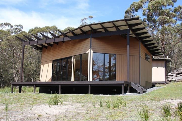 BAY OF FIRES ECO HUT Binalong Bay Off the Grid