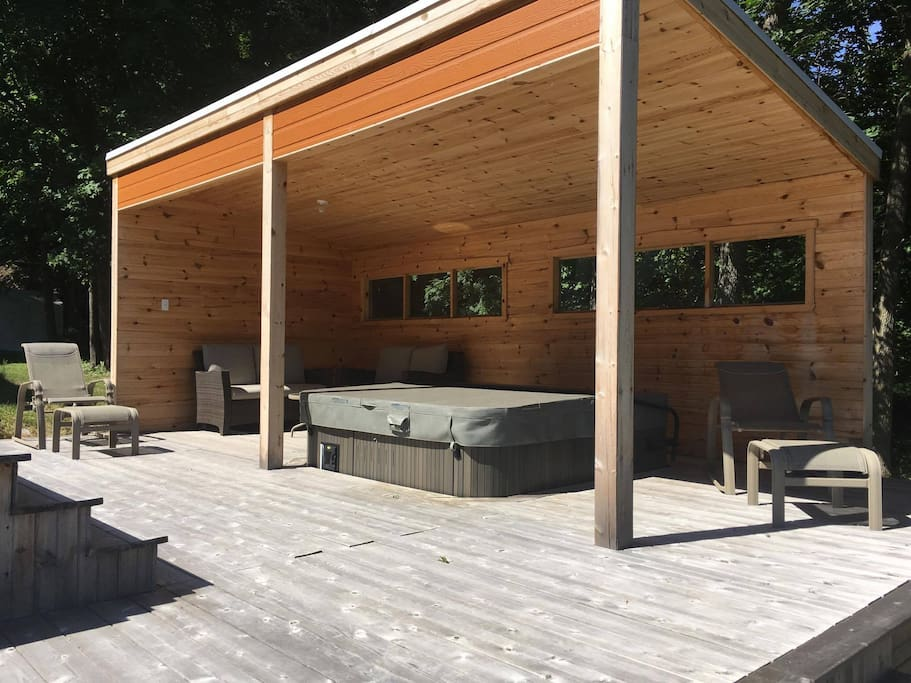 Spa couvert / Covered Spa