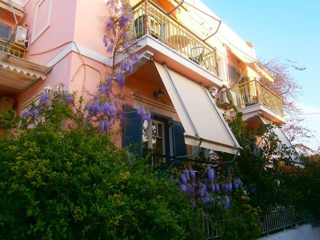 Villa Rodanthos-Two Room Apartment - Perdika - Bed & Breakfast