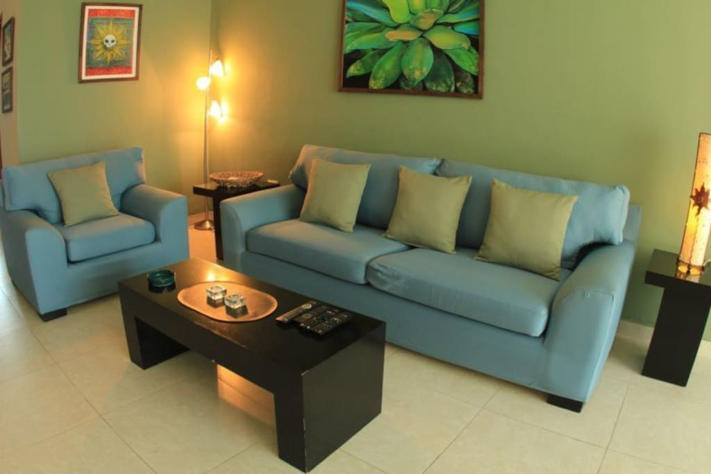 Main living space/area