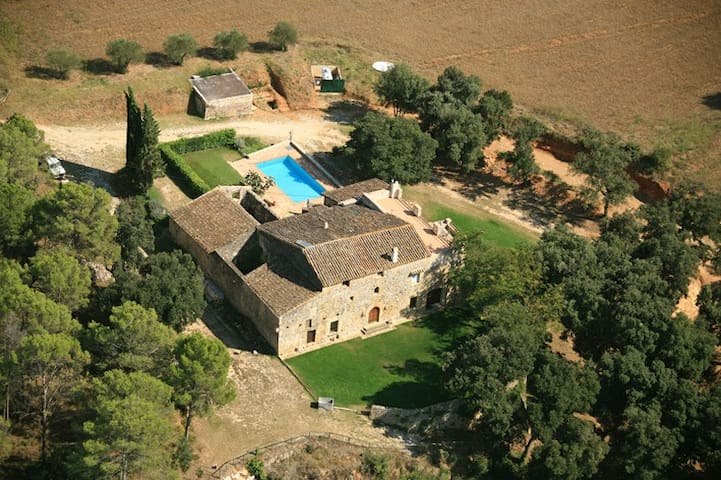 Can Borras_Luxury Villa _(weekly/summer) 13+2 pax - canelles navata girona, - Haus