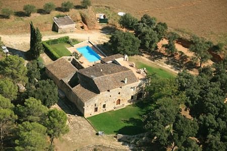 Can Borras_Luxury Villa _(weekly/summer) 13+2 pax - canelles navata girona, - House