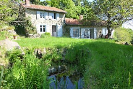 Maison Nature Rare! Parc, arboretum - côte roannaise, monts d'Urfe - Maison