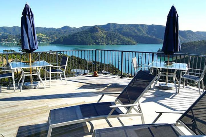 Waimanu Lodge Northland New Zealand - Whangaroa Harbour - Casa