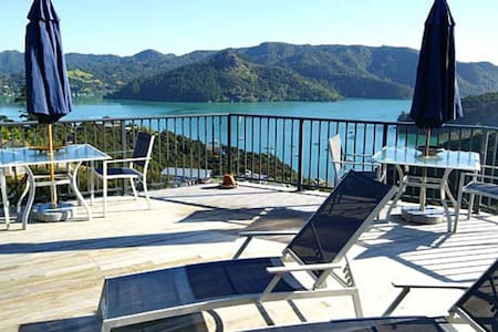 Waimanu Lodge Northland New Zealand - Whangaroa Harbour - Dom