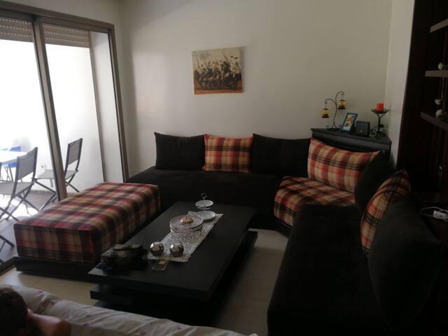 Appartement de vacances idéal pour se reposer.