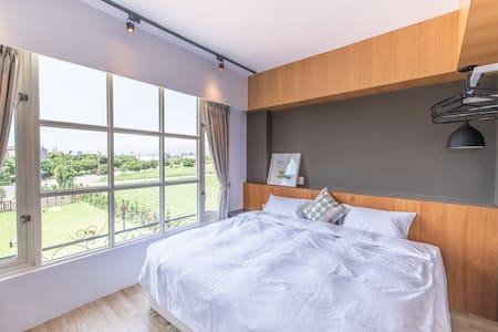 Lemuel House-石木褐四人房Burrwood Quad Room - Ji'an Township