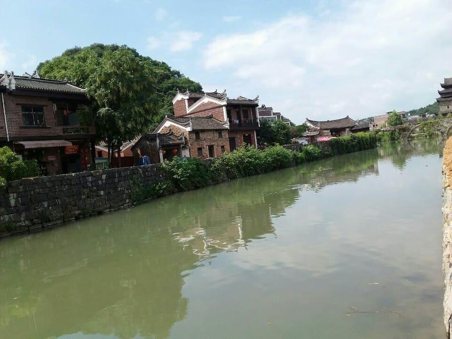 㴬沐河也叫:上甘棠双胞胎河