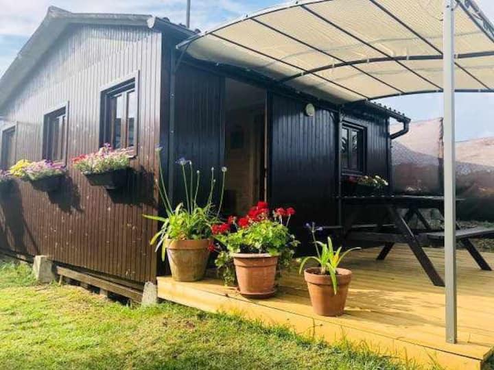 Cabaña de madera en Camping Fin de Siglo