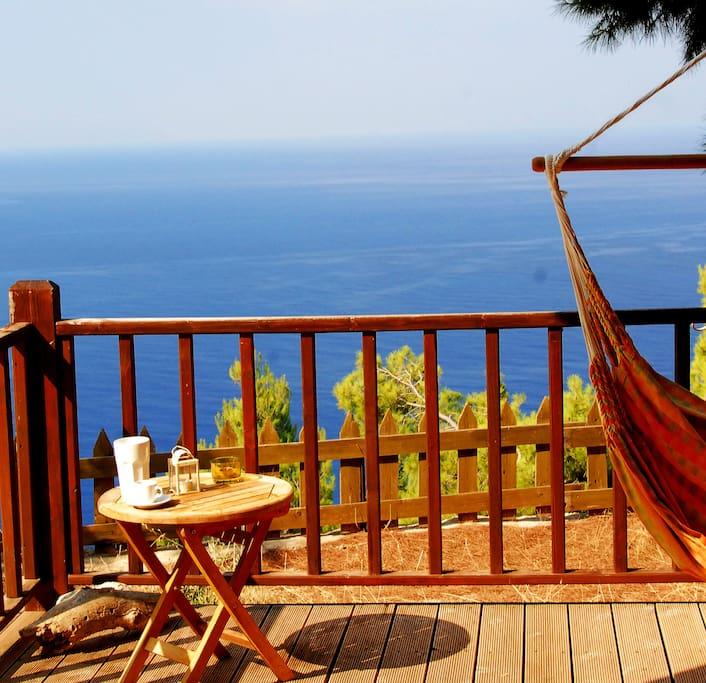 Rosoli eco wooden retreat chalet in affitto a athani - Riscaldamento alternativo in casa in affitto ...