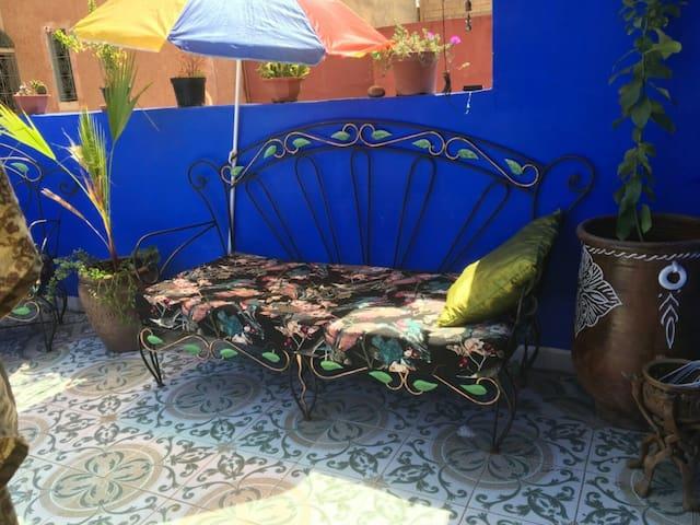Boho Moroccan home1