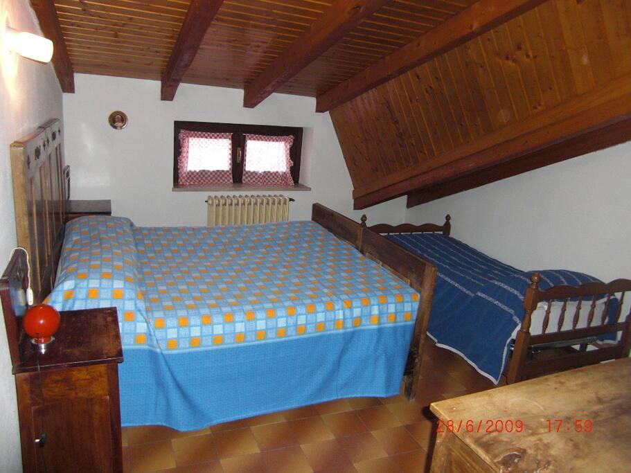 camera azzurra (4 posti letto)