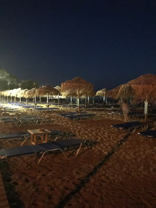 The beach outside in 20 meters