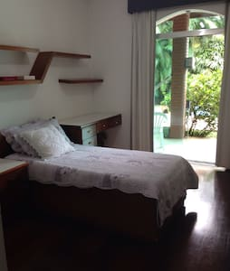 Private bedroom on Embu das Artes - House