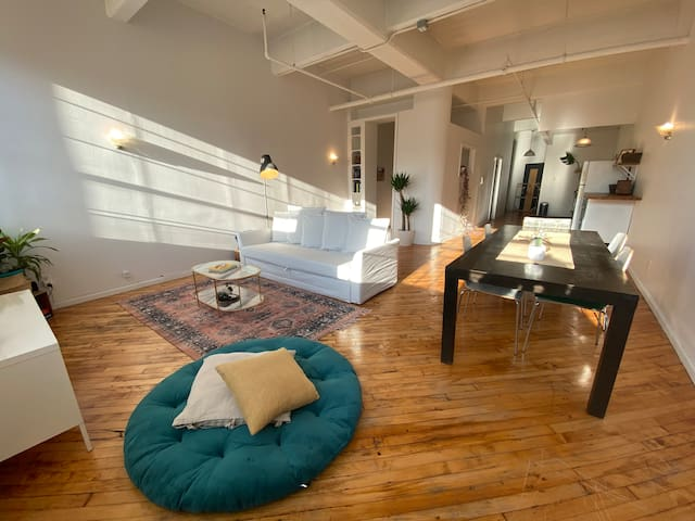 Large, Sunny Brooklyn Loft • One Block From Train