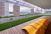 Common area deck