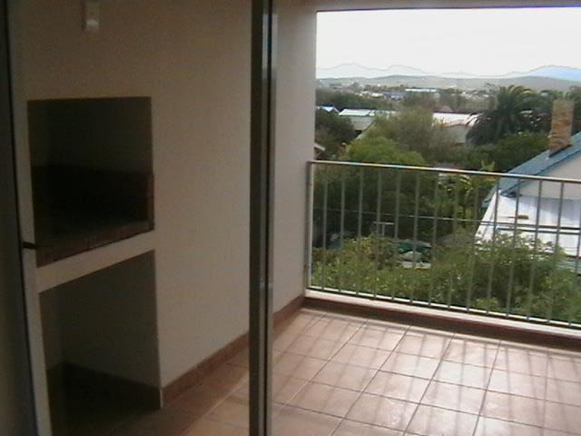 Braai area on balcony