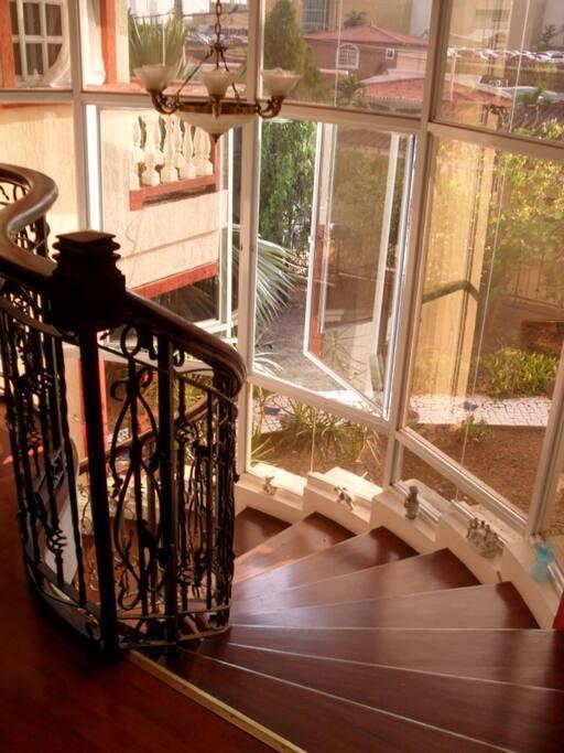 stairway atrium