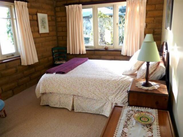 Queen-sized double bedroom