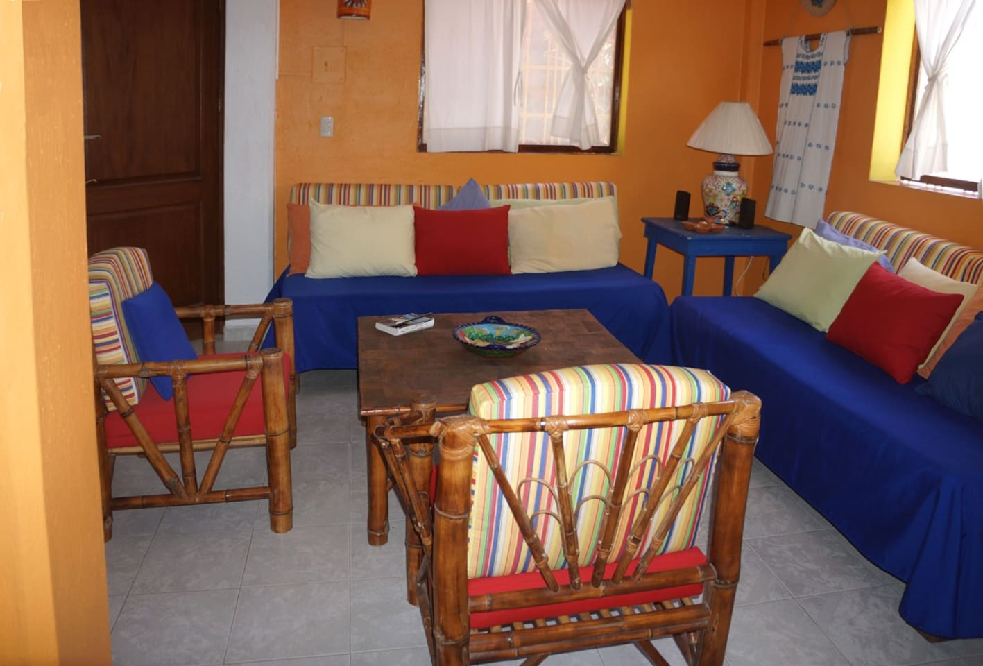 Abajo Living Area - Bright and Comfortable.