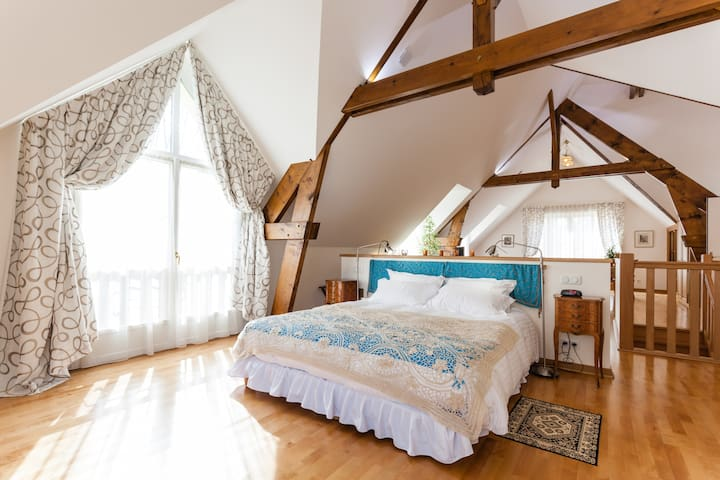 Luxurious Suite 80m2 near Champagne - Saint-Ouen-sur-Morin - Bed & Breakfast