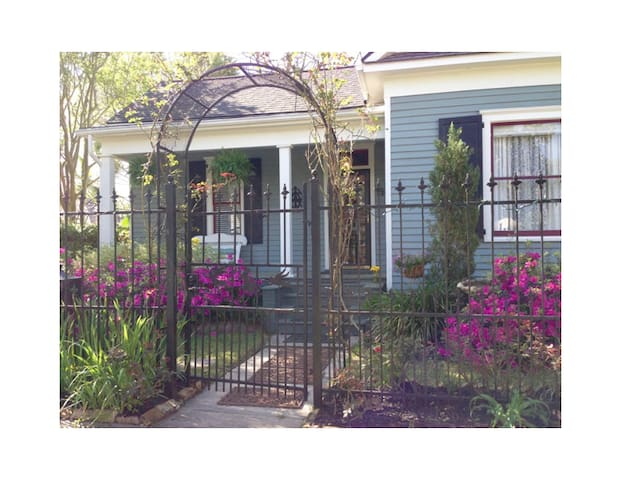 The Bon Amie House in the Historic Houston Heights - Houston - Huis