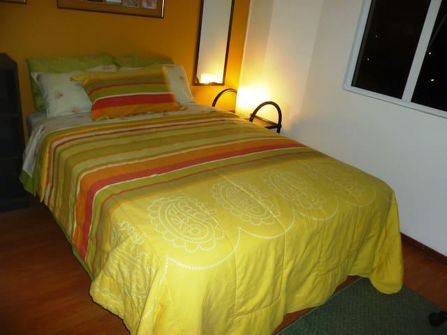 STUNNING BEDROOM FOR SAVVY TRAVEL  IN MIRAFLORES - Lima - Apartemen