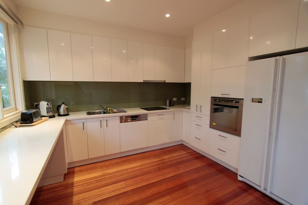 Kitchen recently renovated with new appliances