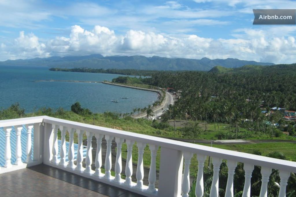 Albay Bay from our verandra